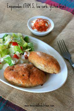 A low carb, THM S, gluten free Empanada recipe.