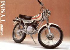 yamaha ty 50 Photo On our site you can find many photos of yamaha ty 50 and other cars. Mx Bikes, Yamaha Bikes, Cool Bikes, European Motorcycles, Vintage Motorcycles, Cars And Motorcycles, Classic Bikes, Classic Cars, Trial Bike