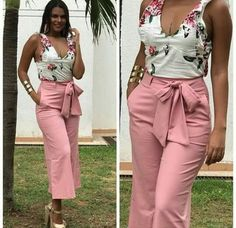 inspiration nosed by Style Casual Outfits, Cute Outfits, Fashion Outfits, Womens Fashion, Summer Outfits, Casual Chic Summer, Business Casual Attire, Latest African Fashion Dresses, Western Dresses