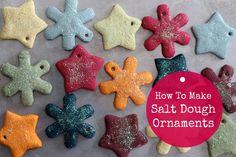 How To Make Salt Dough Ornaments | The Mommypotamus |