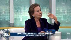 Maria Lydia entrevista Vicente Cândido, deputado federal/PT