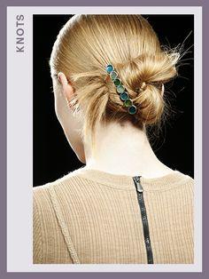 Fashion Week Hair - Bottega Veneta | allure.com