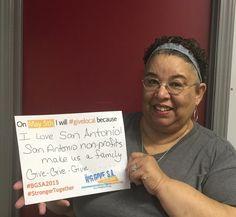 On May 5th, I will #givelocal because I love San Antonio!! San Antonio nonprofits make us a family.