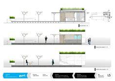 EVM_Bluefin-Planos 05 #arquitectura #architecture #kiosco #terraza #marmol #marble