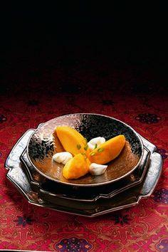 Glace au safran - Larousse Cuisine