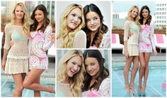#Miranda #Kerr #and #Candice #Swanepoel #two #beautiful #angels