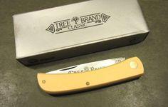 Boker Tree Brand Argentina High Carbon Yellow Sodbuster Jr Hunter Pocket Knife #Boker Custom Knives, Swiss Army Knife, Knifes, Jr, Auction, Pocket, Yellow, Pocket Knives, Knives