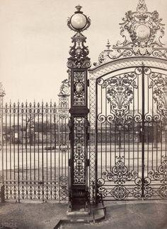 Parc de Monceau. Paris VIIIe. Circa 1864. Charles Marville