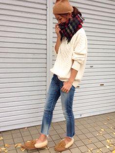 SEAのニットキャップ・ビーニー「SEA x MASACA HAT コットンリブニットキャップ」を使ったyukoのコーディネートです。WEARはモデル・俳優・ショップスタッフなどの着こなしをチェックできるファッションコーディネートサイトです。