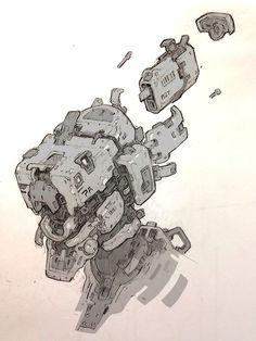 Good looking robot character design beautiful country sheek Character Design Challenge, Character Design Cartoon, Arte Sci Fi, Sci Fi Art, Robot Concept Art, Robot Art, Character Concept, Character Art, Hero Marvel