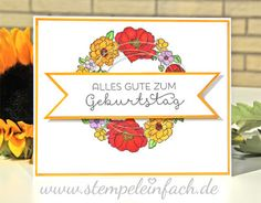 stamp easy Daffodil and white crystal effects
