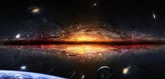 Astronomers have recently announced the discovery of the largest structure ever seen in the known universe, and its 1 Billion Light Years long, making it t Cool Science Facts, Galaxy Images, Other Galaxies, Widescreen Wallpaper, Wallpapers, Light Year, Milky Way, Mind Blown, Astronomy