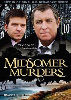 Midsomer Murders, Series 10 (Reissue)REGION 1 CODED (US & CANADA) John Nettles, Midsomer Murders, Agatha Christie, Best Tv, Movies Showing, Detective, Movie Tv, Author, Musik