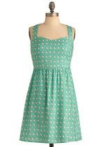 Adorable dress on ModCloth. Yet another early birthday present to myself