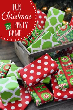This fun party game is perfect for all ages and groups. Such a fun addition to your next Christmas party. Decor Style Home Decor Style Decor Tips Maintenance home Christmas Party Games For Adults, Christmas Games For Family, Christmas Party Themes, Holiday Games, Christmas Activities, Best Christmas Gifts, Kids Christmas, Christmas Crafts, Frozen Christmas