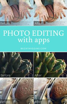 Simple app for editing photos from your phone!