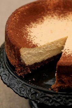 Creamy Gingerbread Cheesecake [from Polish blog]