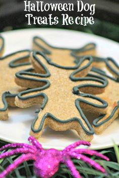 Looking for a great hypoallergenic dog treat recipe? Check out our fun spider Halloween dog treat & let your pooch in on the spooky festivities!