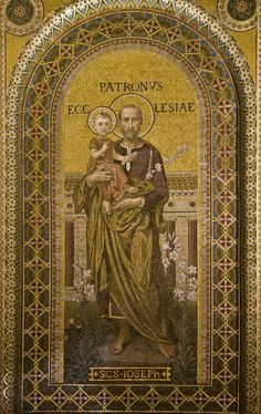 Saint Joseph Patron of the Universal Church Catholic Prayers, Catholic Art, Catholic Saints, Roman Catholic, Religious Images, Religious Art, Christian Artwork, Churches Of Christ, Holy Family