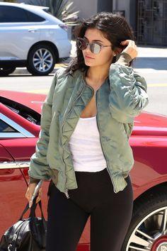 19.7.16 - Kylie arriving at Milk Studios in Beverly Hills