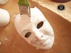 La gatta sul tetto: Maschere di cartapesta tutorial: prima parte