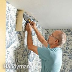 How to Wallpaper- Tips to hanging wallpaper a breeze.
