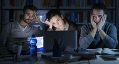 SLUGGISH  Brain regions involved with problem solving are especially slow to respond when sleep-deprived, a new study shows. ~~ Stock-Asso/Shutterstock