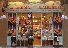 Salumeria, G. Albertini Wonderful delicatessen in Verona, Italy Letter Maker, Homemade Sushi, Verona Italy, Farm Shop, Poster Ads, Coffee And Books, Shop Around, Store Displays, Business Inspiration