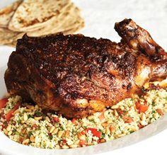 Moroccan Harissa Lamb and Couscous