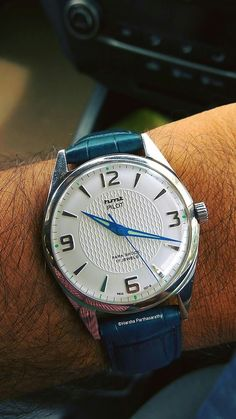 HMT WATCH.. MADE IN INDIA .. MODEL NAME PILOT ..!