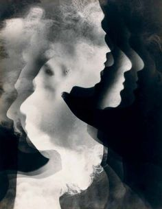 Arthur Siegel, Study of Negative/Positive Profiles, 1937, photogram, gelatin silver print, 48x38 © The Estate of Arthur Siegel