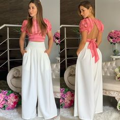 La imagen puede contener: una o varias personas y personas de pie Fashion Pants, Look Fashion, Girl Fashion, Fashion Outfits, Gothic Fashion, Chic Outfits, Dress Outfits, Dress Up, Fancy Dress