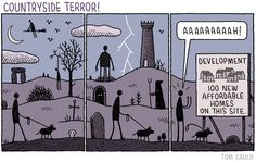 Tom Gauld - Countryside terror