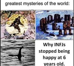Infp Personality, Myers Briggs Personality Types, Personalidad Infj, Infj Mbti, Istj, Infj Type, Bad Humor, Mysteries Of The World, Dark Humour Memes