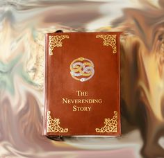 Neverending Story Leather Book Bag Brown Leather Book Purse by krukrustudio on Etsy