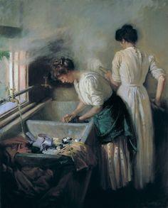 Vida Lahey (Australian) - Monday Morning,1912