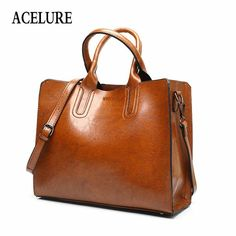Cheap bolso brand, Buy Quality brand leather handbag directly from China leather handbags Suppliers: ACELURE Leather Handbags Big Women Bag High Quality Casual Female Bags Trunk Tote Spanish Brand Shoulder Bag Ladies Large Bolsos Luxury Handbags, Fashion Handbags, Tote Handbags, Leather Handbags, Burberry Handbags, Cheap Handbags, Cheap Purses, Leather Bags, Ladies Handbags