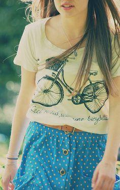Bike shirt + skirt
