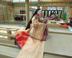 Heian Period, Asian Doll, Japanese, Tote Bag, Female, Paintings, History, Architecture, Gowns