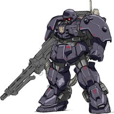 den'an_zon gundam gundam_f91 mecha mechanization nezunezu protect-gear
