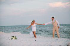 modern stylish beach wedding by pure7studios.com