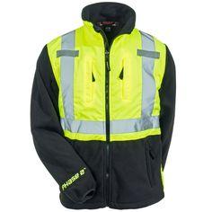 Tingley Rubber Men's J73022 Reflective High Visibility Fleece Safety J