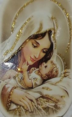 Jesus And Mary Pictures, Mother Mary Images, Images Of Mary, Mary And Jesus, Blessed Mother Mary, Blessed Virgin Mary, Jesus Mother, Cute Baby Couple, Merry Christmas Pictures