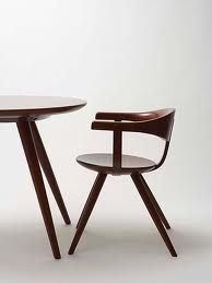 Articles about collection/new york on Apartment Therapy, a lifestyle and interior design community with tips and expert advice on creating happy, healthy homes for everyone. Table And Chairs, Dining Chairs, Desk Chairs, Bag Chairs, Metal Chairs, Wood Furniture, Furniture Design, Furniture Buyers, Inspiration Design