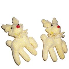 Saver 2 x Cute Yellow Deers For Christmas Ornament Decoration -- You can get additional details at the image link.