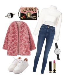 Fury Cozy by melaluuh on Polyvore featuring polyvore, fashion, style, Alexandre Vauthier, J Brand, Dolce&Gabbana, Skagen, Bony Levy, Gucci and clothing