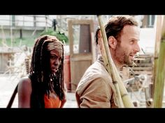 Rick & Michonne - Don't Say Anything - YouTube