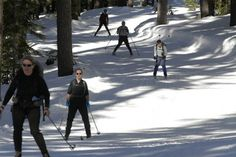 Santiam Pass south to Diamond Lake offers multitude of cross-country ski, snowshoe opportunities #Oregon