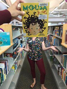 Medusa Jones, by Ross Collins  /  Book Faces @ Calvert Library