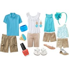 Summer Family Pictures :), created by melissa-whitaker-whiteley on Polyvore